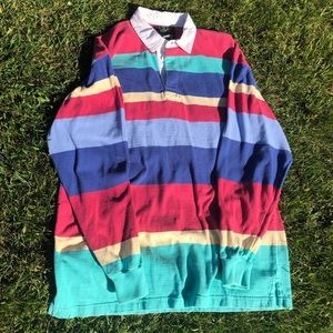 Lands' end rugby shirt M 38-40